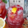 Gin and (Pomegranate) Juice