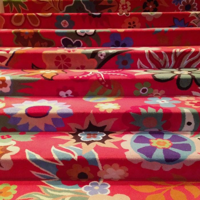 A pretty staircase at the Wynn
