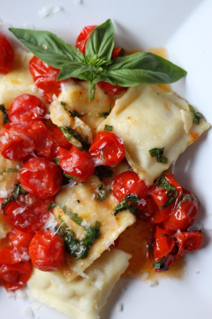 Tomato Basil Ravioli