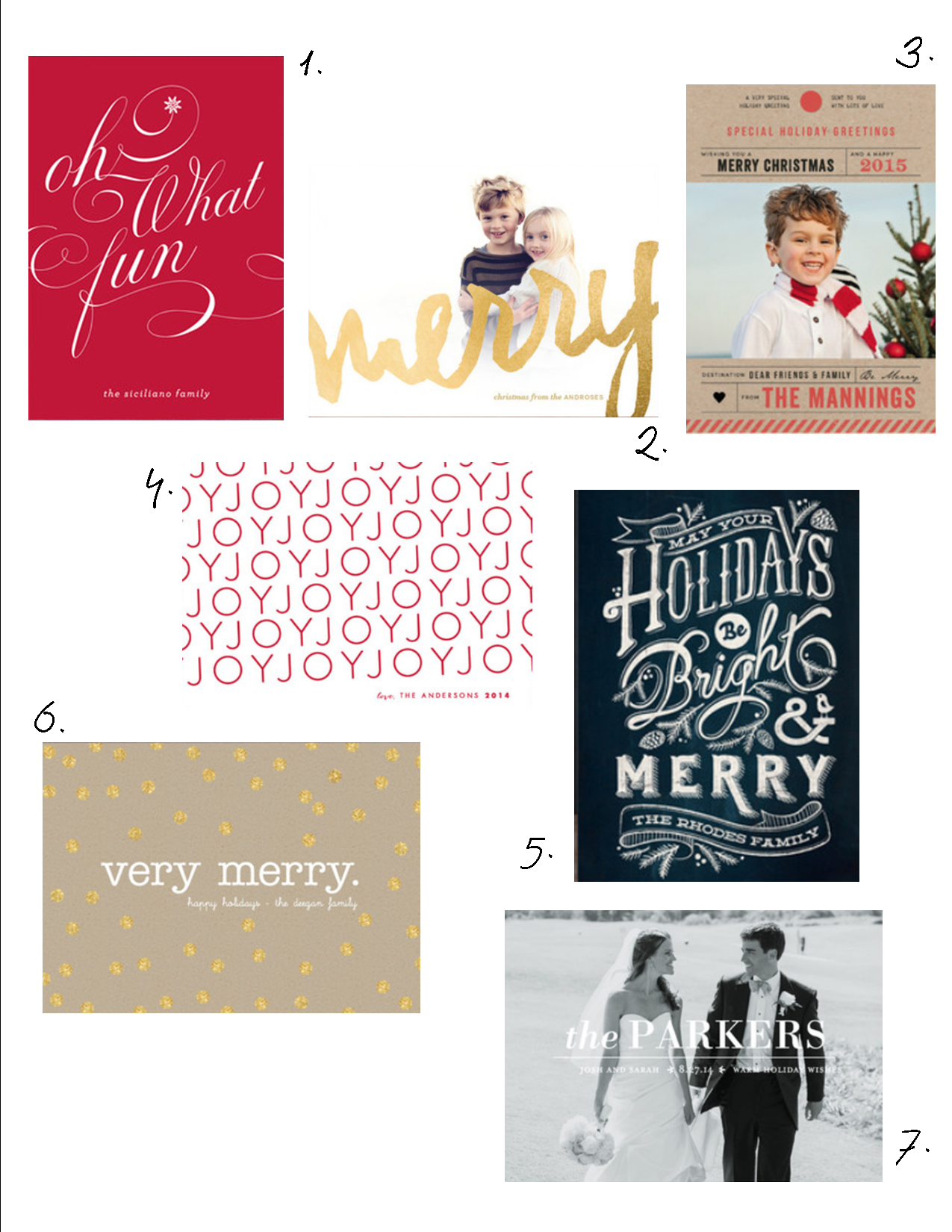 Christmas Card Shopping with Minted – Laundry In Louboutins