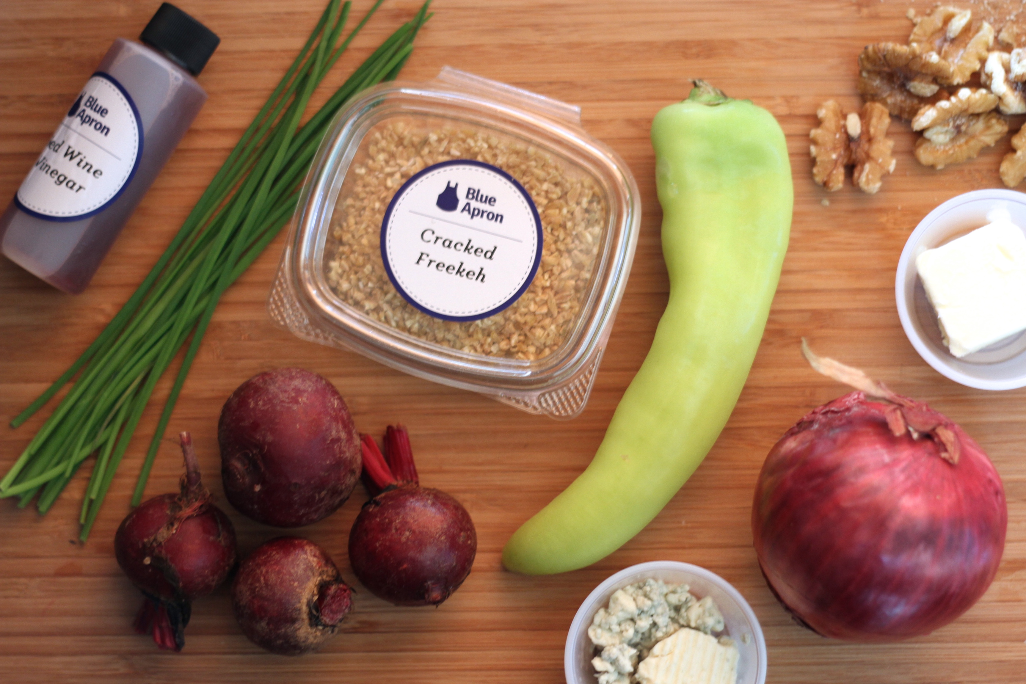 Blue apron one person