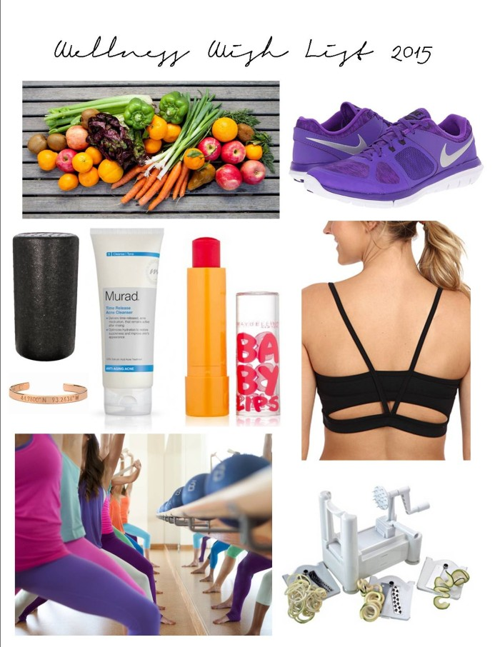 Wellness Wish List