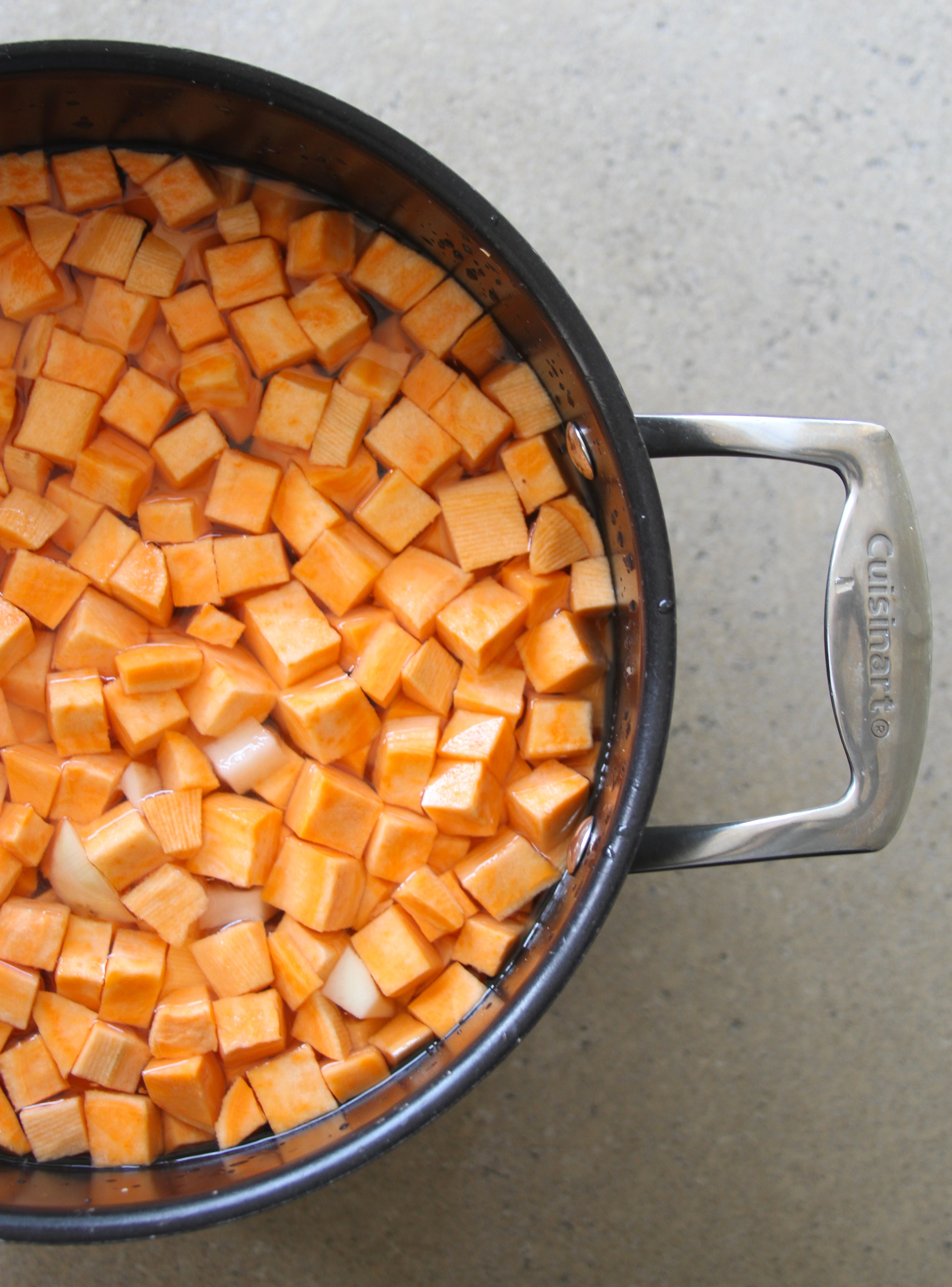 Paleo Sweet Potato Hash with Avocado Cream – Laundry In Louboutins