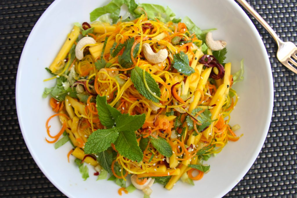 Papaya Tangled Salad
